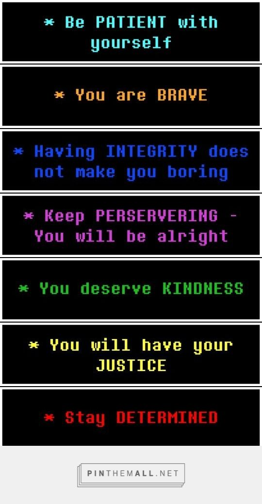 Undertale - teaching you how to be a better person
