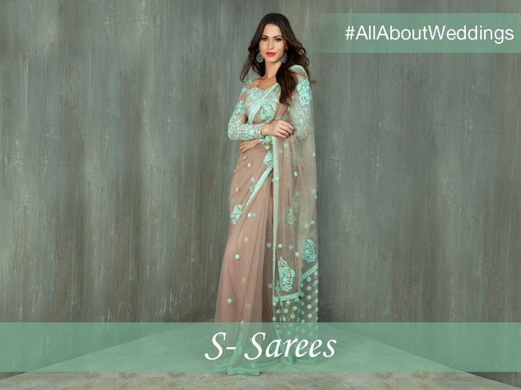 A bride's trousseau is incomplete without a classic saree. Whether it's handed down by older generations or a special addition to your quintessential collection, a saree is surely a must-have in every wardrobe! #AllAboutWeddings