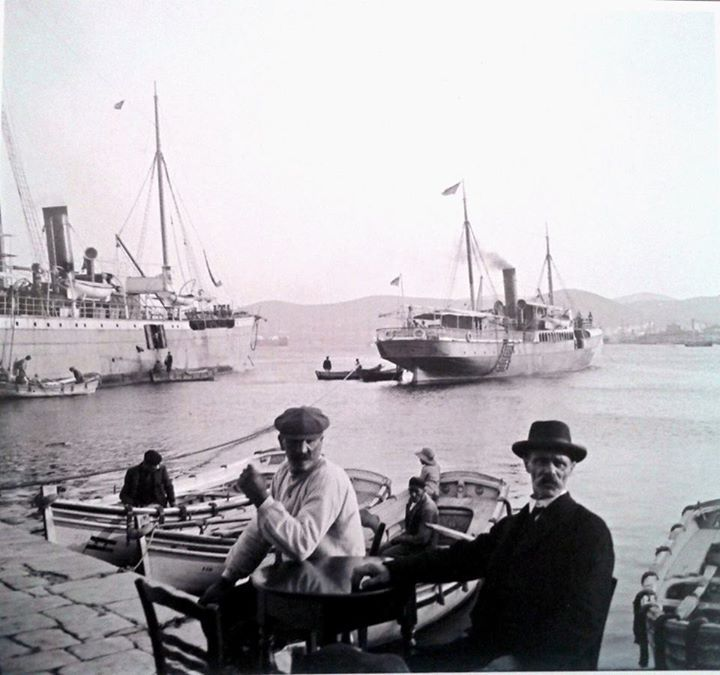 1911 ~ Port of Piraeus
