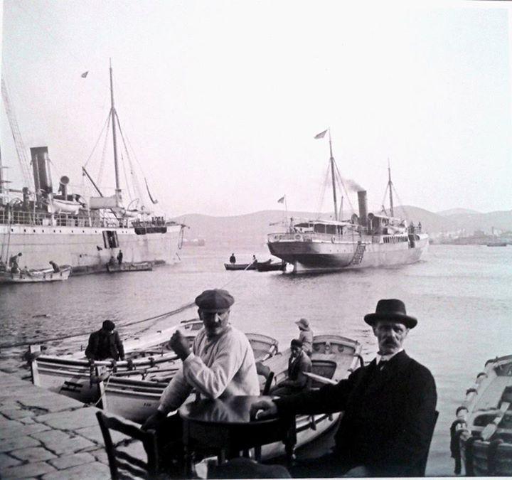 1911 ~ Άποψη του λιμανιού.