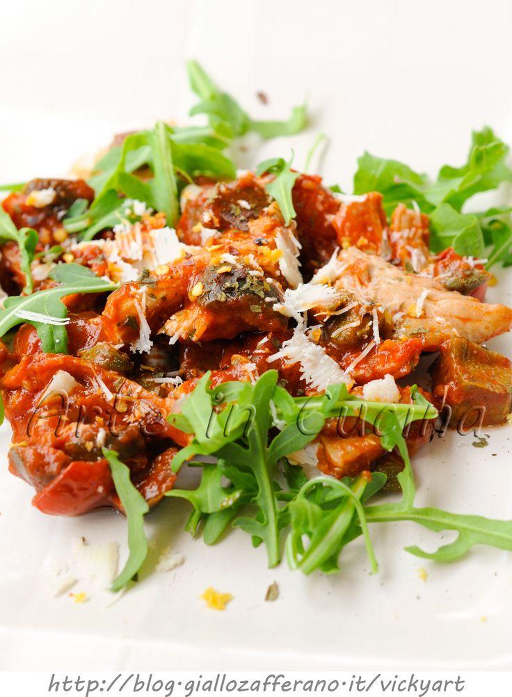 Pollo all'arrabbiata ricetta facile e veloce vickyart arte in cucina
