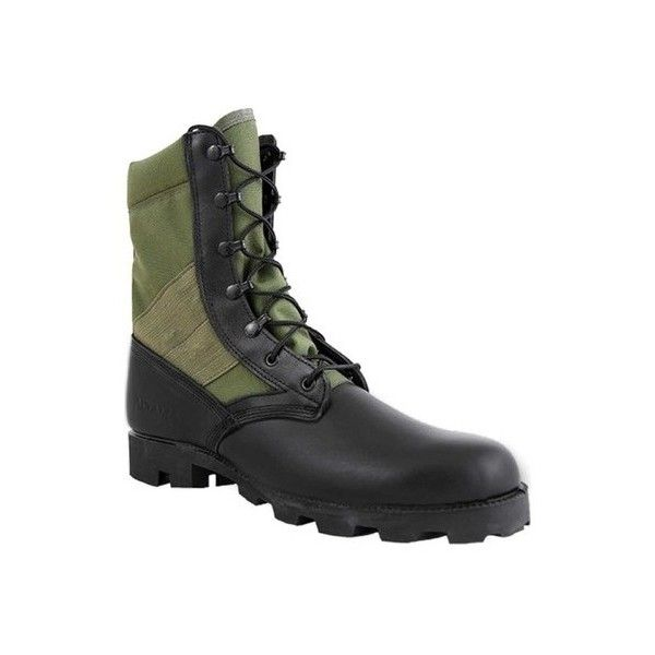 """Men's Altama Footwear Jungle PX 10.5"""" Boot ($110) ❤ liked on Polyvore featuring men's fashion, men's shoes, men's boots, men's work boots, casual, work boots, mens work boots, mens black combat boots, mens combat style boots and mens combat boots"""