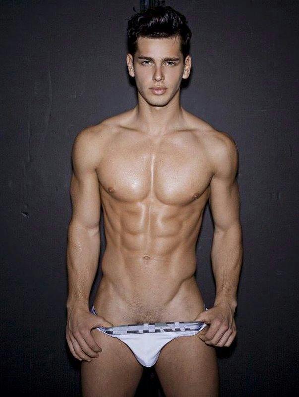 World sexiest male model nude #2