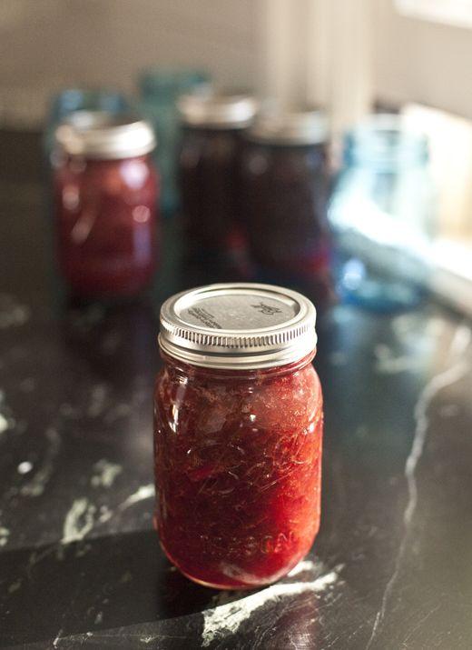 rhubarb-orange jam <3