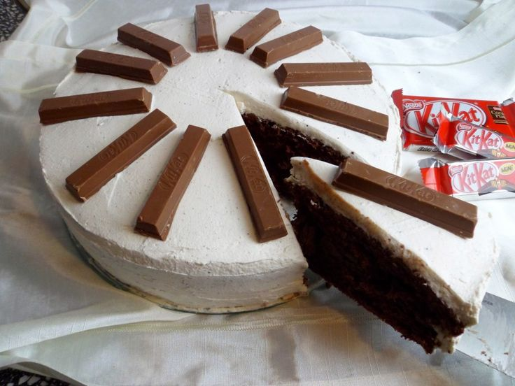 KitKat taart doe het zelf - Yummy Chunky Classic Mix!