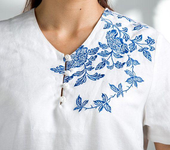 Material: 70% Linen,30% cotton  Quantity: 1pcs shirt  Intro:soft casual shirt  Fit for summer  Color:white