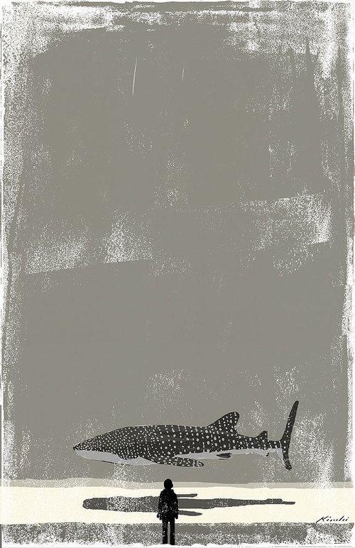 Whaleshark Art Print by Tatsuro Kiuchi