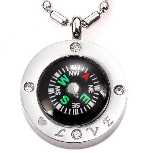 JewelryWe Schmuck poliert glänzend Edelstahl Kompass Anhänger Halskette Partneranhänger Partnerkette für Herren, http://www.amazon.de/dp/B007Y2TL2U/ref=cm_sw_r_pi_awdl_JcNRtb14NSNQP