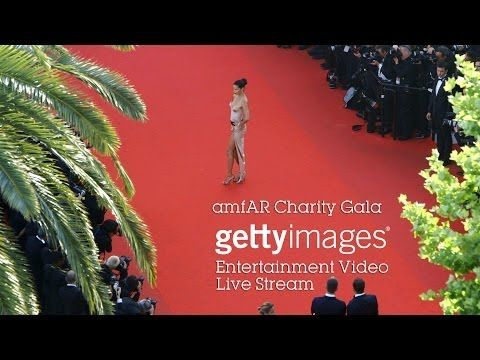 amfAR Charity Gala arrivals at Hotel Du Cap