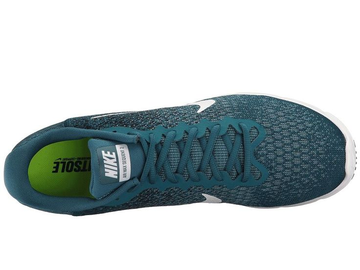 Nike Air Max Sequent 2 Men's Running Shoes Legion Blue/White/Black/Smokey