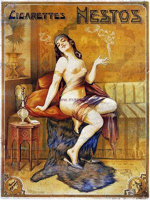 NESTOS greek cigarettes_old greek  ads