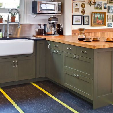 Sage Green Kitchen Cabinets Design Pictures Remodel