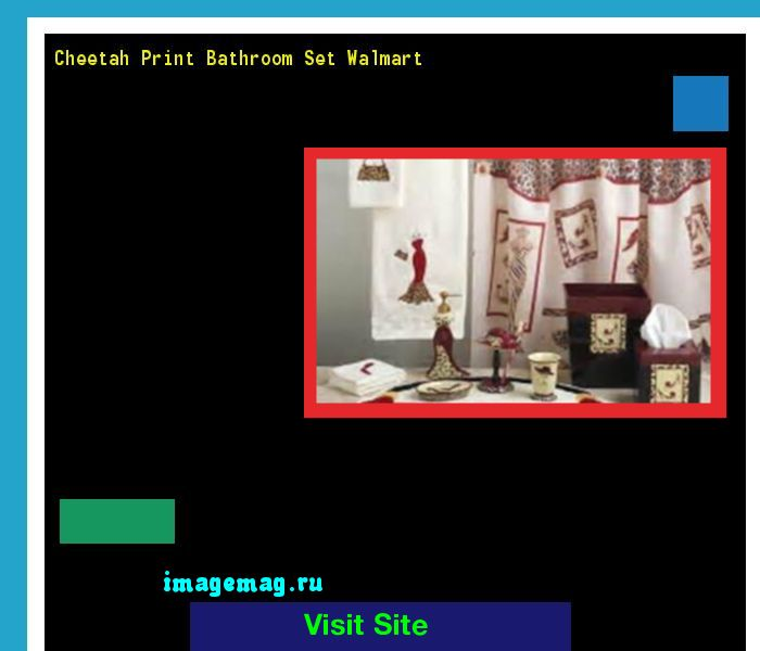 Cheetah Print Bathroom Set Walmart 093511 - The Best Image Search