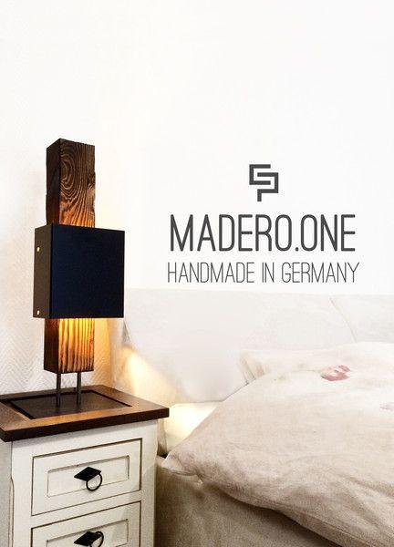 Tischleuchte+/+Tischlampe+aus+Massivholz+-+El+Palo+von+El+Palo+-+Germany+auf+DaWanda.com