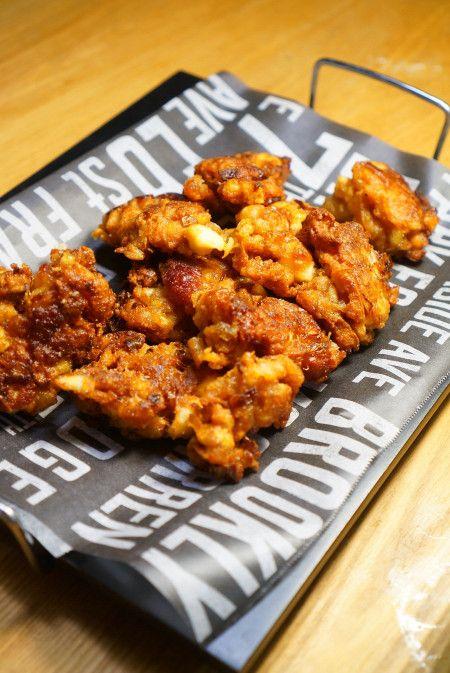 「中身は何?」の驚き!鶏皮と厚揚げの唐揚げのレシピ