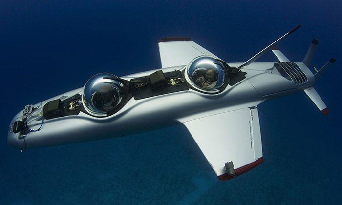 Super Falcon Mark II je osobní ponorka pro dva