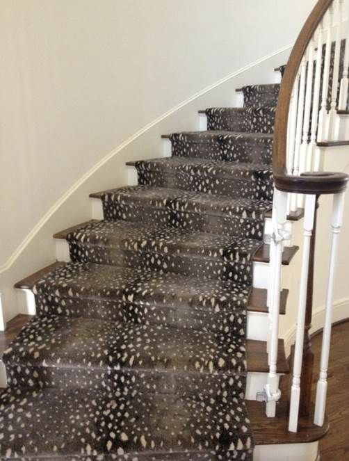 1000 images about stair runners on pinterest carpets Antelope pattern carpet
