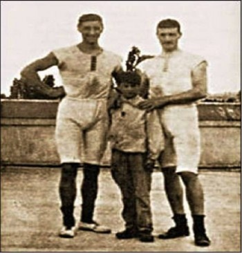 Dimitrios Loundras - He was part of the first athletes who ever played in the first Olympics held in 1896. He was born on September 04, 1885 and died on February 15, 1971. He took part in the Summer Olympics held in Athens where his team received a bronze medal at age 10. Throughout history, he still holds the title of the youngest athlete ever played in the history of Olympics in the world. Olympics.com.au