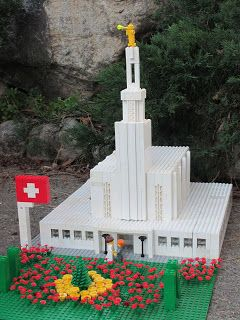 This is so cool.  A family that builds replicas of the temples out of legos.  Check it ou!