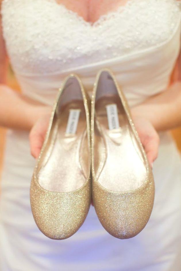 Steve Madden - Flat Wedding Shoes   Flat Bridal Pumps   Bridal Musings Wedding Blog 15