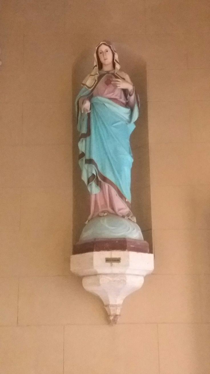 La Virgen María en la Basílica de Lujan, Argentina