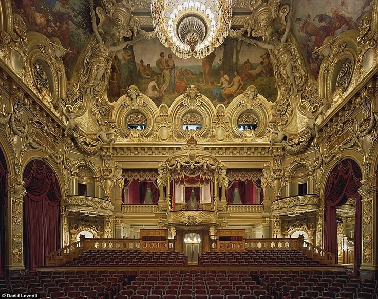 Opéra de Monte-Carlo in Monaco in 2009. Little said he wanted to generally avoid the typical photographs of sports cars and glamorous mansions that have become cliche representations of the ultra rich