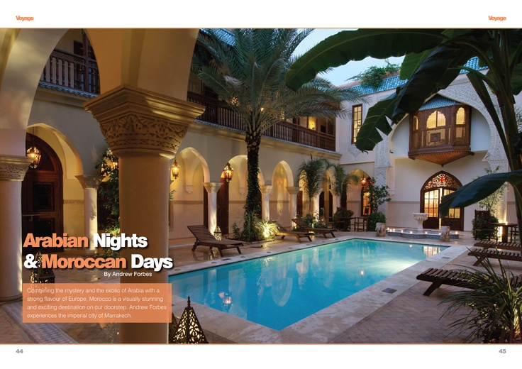 Marrakech boutique riad   Andrew Forbes