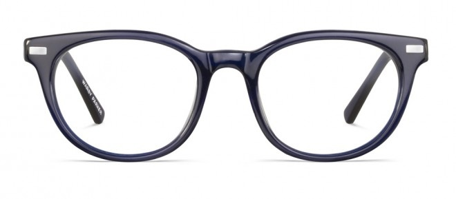 My new glasses: Warby Parker Sinclair frames in Midnight Blue. Had to get the lightweight lenses, setting me back a whopping $120! (JK, that is like nothing for a new pair of glasses.)