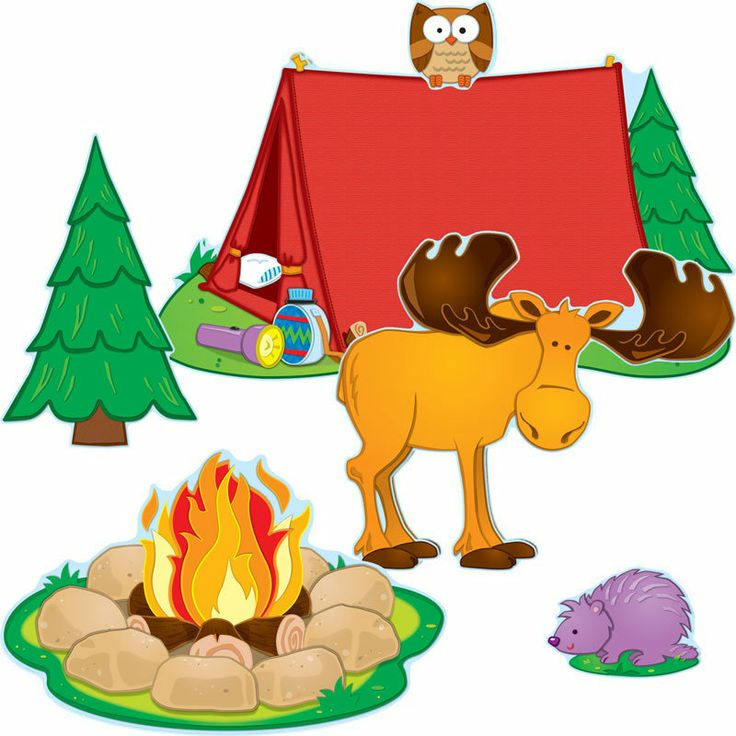 Camping+Theme+Classroom+Pictures | Home Camping Bulletin Board Set