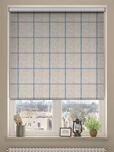 Epic Choices Washington Still Blue Roller Blind