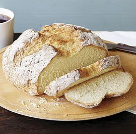Irish Soda Bread - Traditional without the raisins and included a cross for the fairies to escape.  jt