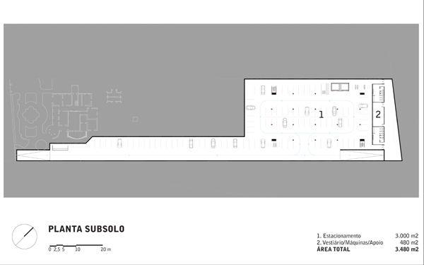 10 Museo de Arte Moderno de Santos de Paulo Mendes da Rocha Subsuelo