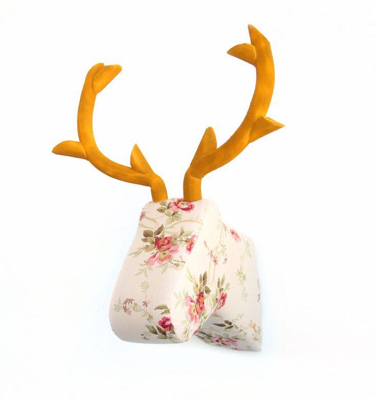 M s de 25 ideas incre bles sobre decoraci n de cabeza de ciervo en pinterest cabeza de ciervo - Cabezas animales tela ...
