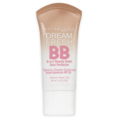 The Maybelline BB Cream offers an 8-in1 beauty treatment system that includes SPF 30 to keep your skin flawless and protected from the sun.