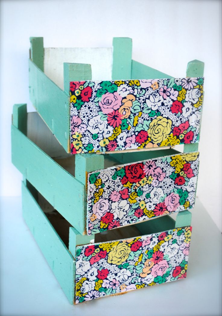Upcycled Clementine Crates from What to do with Lemons!