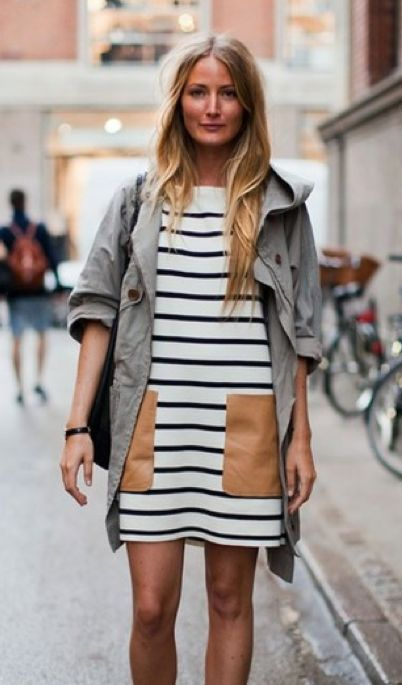Striped street style