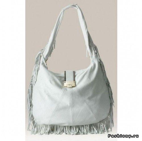 Бахрома, как элемент декора на сумках / сумки с бахромой