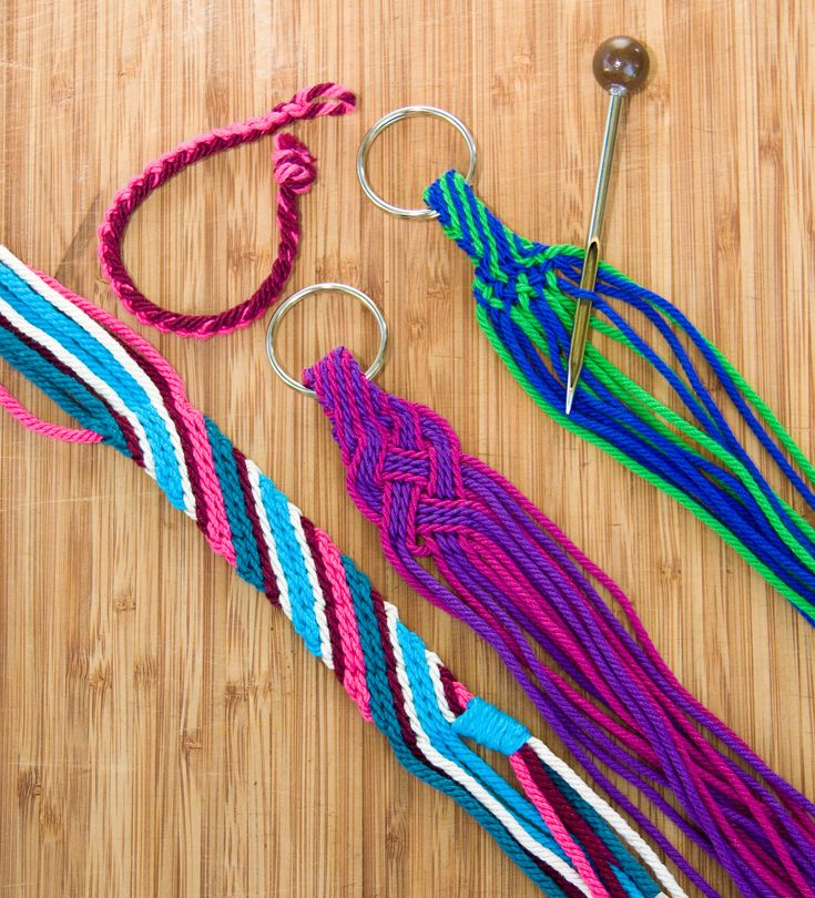 ply-split braiding - learn this here at the Craft Center