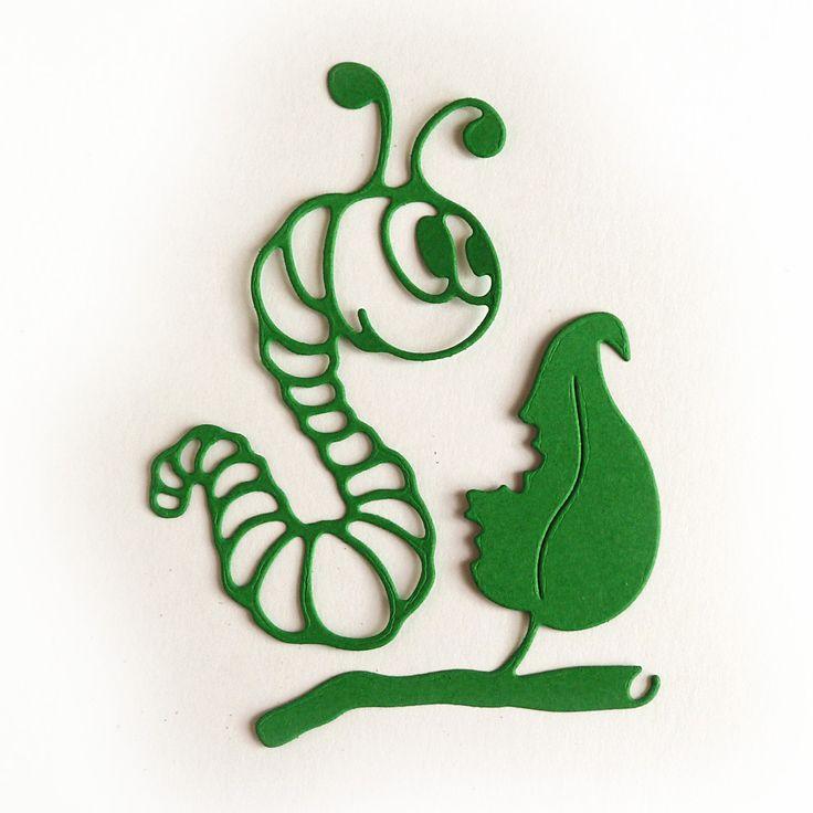 Funny caterpillar - Crafty Ann