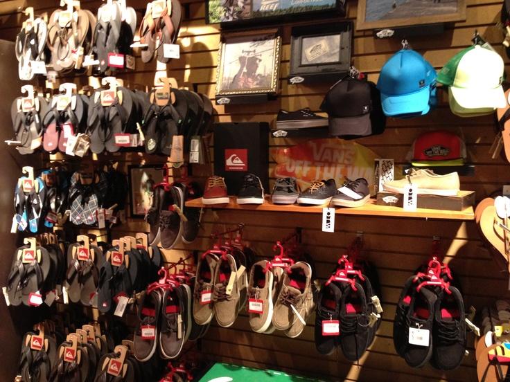 Shoe Wall Merchandising