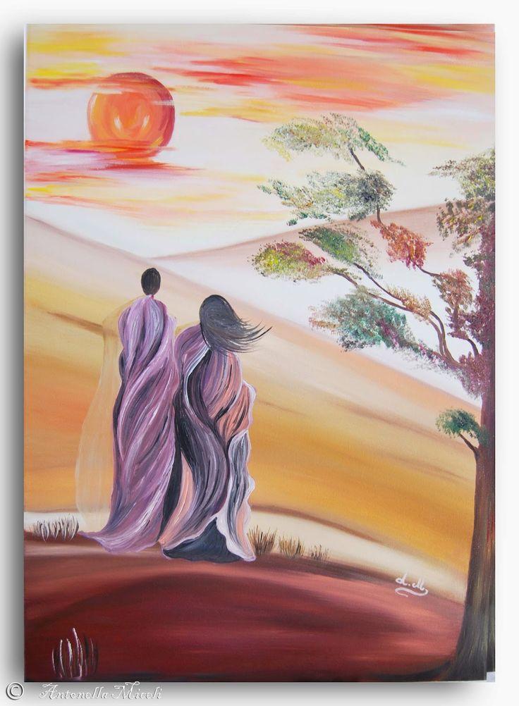 """""""L'Arte e i suoi colori"""": """"Il deserto della speranza"""""""