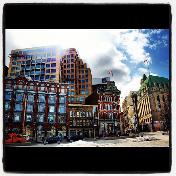 Wonderful architecture of Elgin Street in downtown #Ottawa #Canada