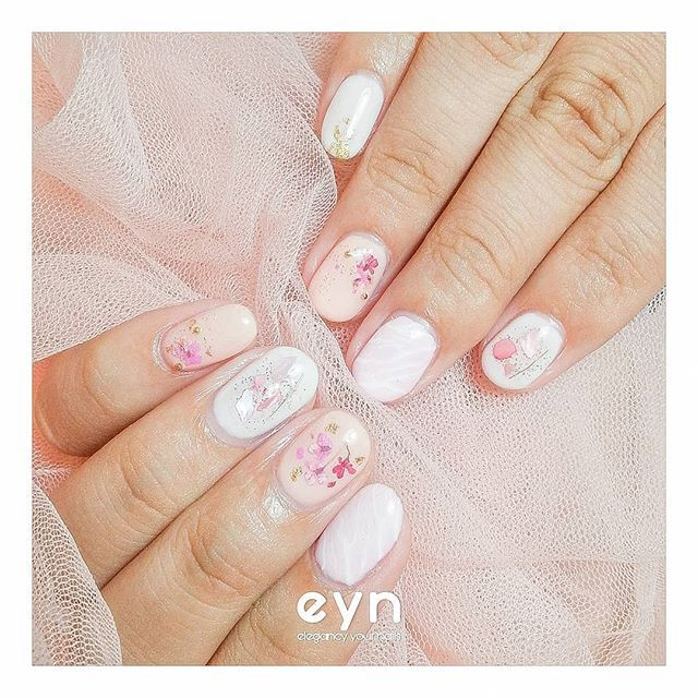 Japanese Nails For Pretty Hellen Erniati All Handpainted On