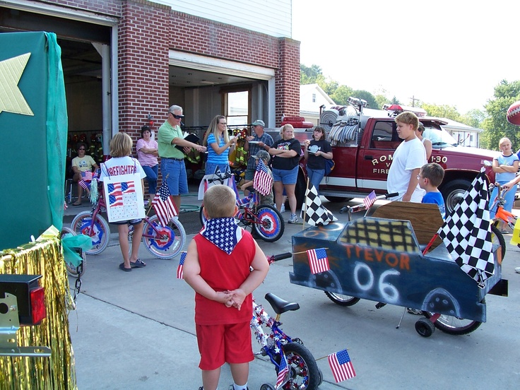 17 best images about parade entry ideas on pinterest for Bike decorating ideas