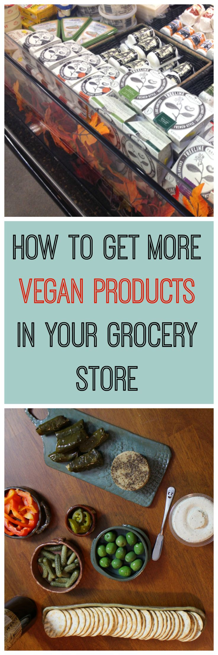 Would you like more vegan products in your grocery store? Here are some easy…
