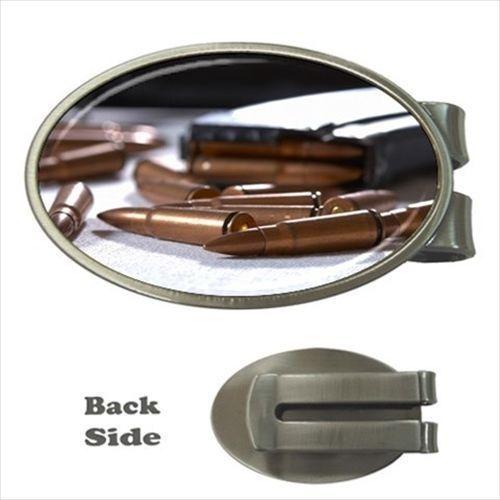 Ammo Bullets Chrome Money Clip