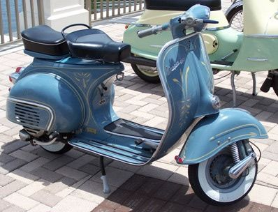 1960 Items | Vespa 125cc 1960
