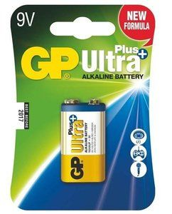 1 stuk GP Ultra Plus Alkaline 9V blok in blisterverpakking voor slechts € 4,99.
