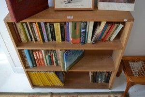 Basement 7 - Provenance Auction House: A Pair of Open Bookcases.