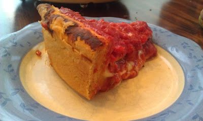 Giordano's Deep Dish Chicago Style Pizza Copycat Recipe | Cooking With God's Amazing Harvest